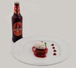 L'abbinamento:Birra Moretti La Rossa