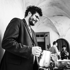 Enrico Vignoli del Postrivoro. Il team conta sui ragazzi del catering de La Fenice