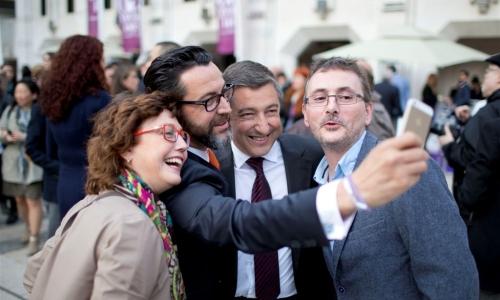 selfie tutto spagnolo