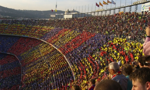 Nou Camp, a temple (photo by commons.wikimedia.org)