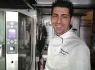 Antonio Borruso, chef del Gimmy's ad Aprica, primo tra i finalisti in ordine alfabetico