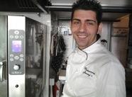 Antonio Borruso, chef of restaurantUmamiat hot