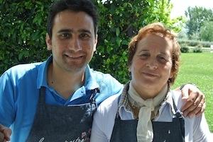 Manuel and Liliana Lombardi, conciato romano producers of Le Campestre