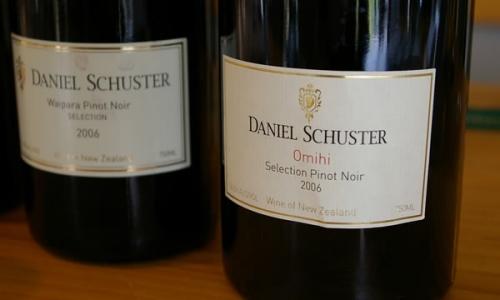 Daniel Schuster: great pinot noirs inWairarapa