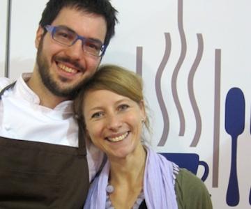 Fabrizio Ferrari andAnna Valsecchi, together in work and life