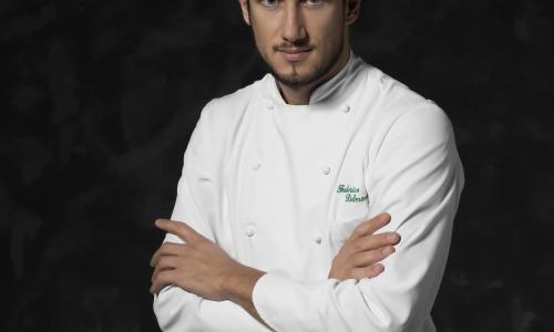 Federico Delmonte, already a chef atIl Vicolo del Curato in Fano (Ancona), he'll be back soon with a restaurant in Rome (photo byMoscheni)