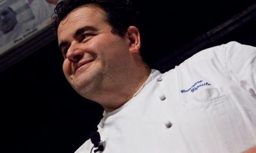 Gennaro Esposito, is also one of the chefs managed by Cheffintour Management