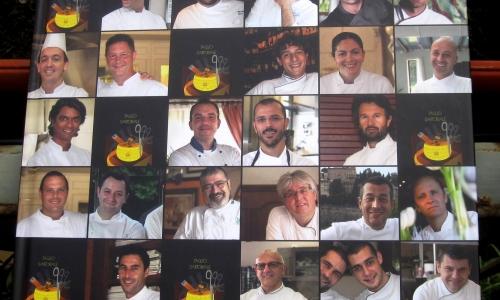 I protagonisti di Taglio sartoriale, nella copertina del volume edito da Mondadori