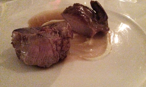 Lamb, Garlic and Artichokes (served on a side)by Matteo Monti