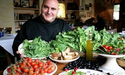 Pietro Zito, cuoco degli Antichi Sapori di Montegr