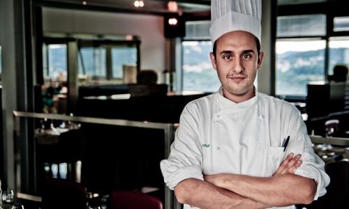 Luigi Salomone, sous-chef del Marennà di Sorbo Serpico (Avellino), ultimo in ordine alfabetico (per i volti degli altri 8 finalisti, vedi la fotogallery in basso)