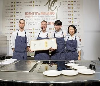 Simone Padoan e il suo team di San Bonifacio, la pizza gourmet sale in paradiso