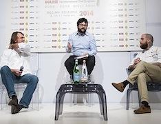 "Beniamino Nespor ed Eugenio Roncoroni, presentati da Luca Iaccarino. Libro, ""Street Food d'autore"" (Gribaudo)"