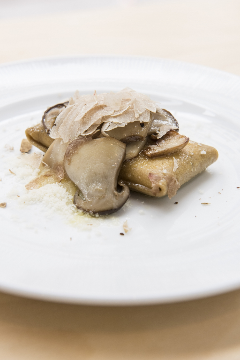 Gluten Free Crescenza Ravioletto with Grano Padano, Porcini Mushroom ...