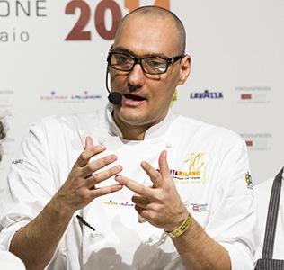 Simone Salvini, cuoco vegano
