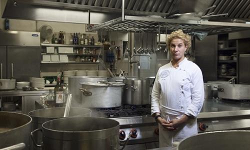 Ana Roš, chef of Hiša Franko inStaro Selo, Kob