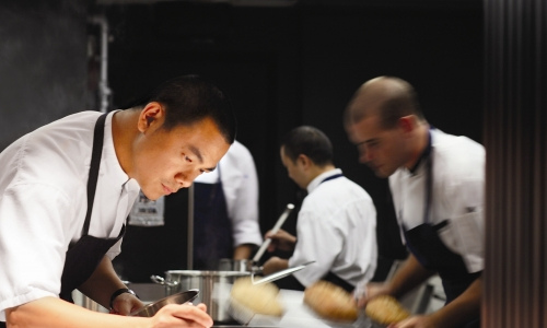 André Chiang from Restaurant Andre in Singapore i