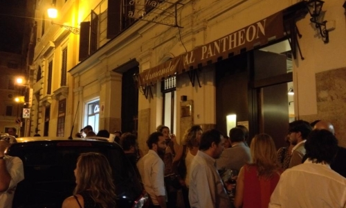 Since 1961 people always queue outside historic restaurant Armando al Pantheon (+39.06.68803034) in the centre of Rome