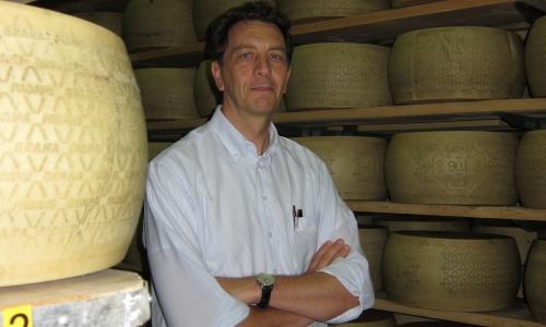 Nicola Cesare Baldrighi, presidente della PLAC e del Consorzio di Tutela del Grana Padano