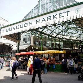 Il lunedì mattina potreste incontrare Heinz Beck all'interno del Borough Market, dove si trovano prelibatezze locali e internazionali