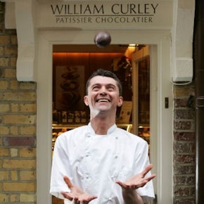 William Curley's pastry shop, awarded four times for the best chocolate in England, is one of Heinz Beck's tasty retreats