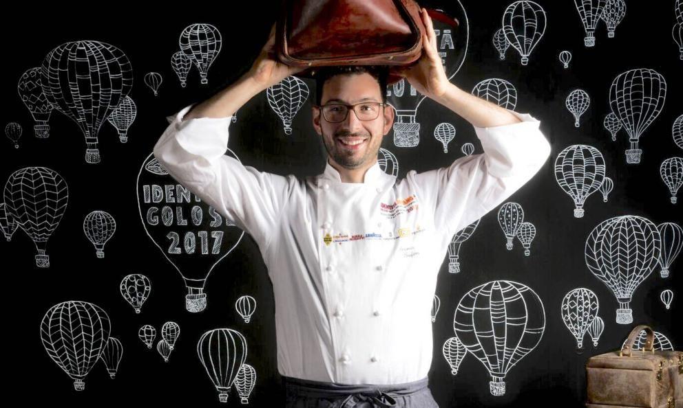 Antonio Biafora, chef del ristorante novitàHylediSan Giovanni in Fiore (Cosenza), premiato Sorpresa dell'anno dalla Guida di Identità Golose 2021, da oggi online