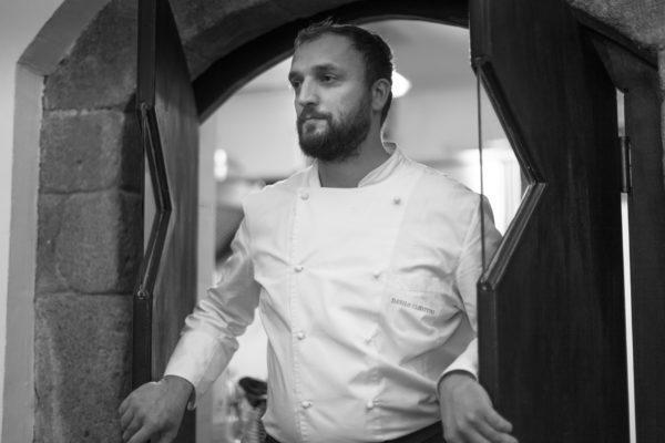 Danilo Ciavattini, titolare del ristorante omonimo a Viterbo, una stella Michelin da pochi mesi. Saràrelatore a Identità di Pasta,domenica 24 marzo