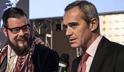 <p>Il premio &egrave; andato a<strong>&nbsp;Eugenio Boer</strong>, chef di&nbsp;<em>Essenza</em>, Milano. Con lui<strong>&nbsp;Alfredo Pratolongo</strong>, direttore Comunicazione e Affari Istituzionali&nbsp;<em>Heineken Italia</em>&nbsp;e vicepresidente di&nbsp;<em>Fondazione Birra Moretti</em>.</p>