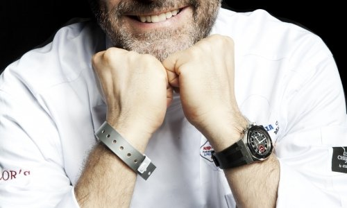Lo chef tristellato Massimo Bottura