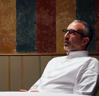 Mauro Buffo, chef del ristorante 12 Apostoli di Verona, premiatodaAlmir AmberskovicCEO Global diThe Fork