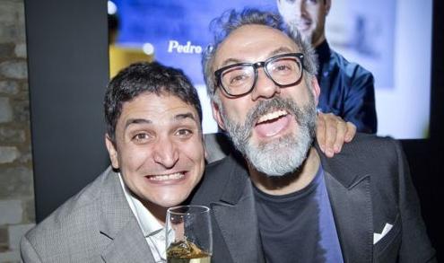 Mauro Colagreco e Massimo Bottura