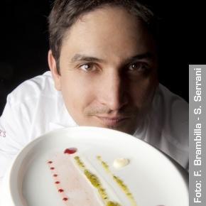 Mauro Colagreco, chef of restaurantMirazur in Menton (France)