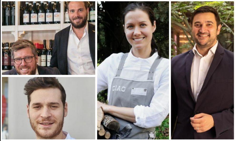 Five new speakers at Identità Milano:Vittorio and Saverio Borgia,Francesco Vincenzi,Jessica Rosval,Mattia Pastori