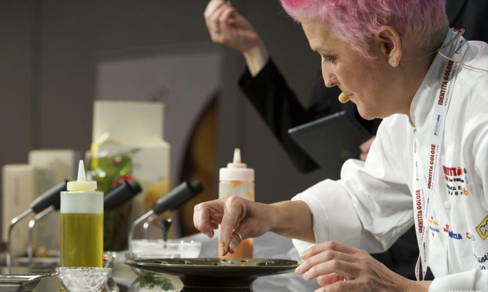 Cristina Bowerman, chef from Glass Hostaria, Rome