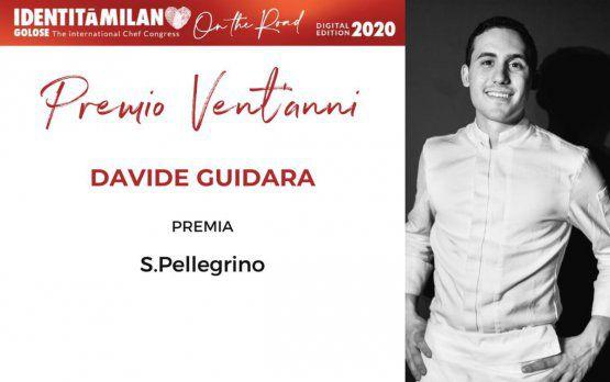 Acqua Panna e S.PellegrinopremiaDavide Guidaracol Premio Vent'Anni