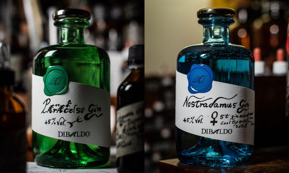 Paracelso e Nostradamus: i due nuovi gin lanciati da Baldo Baldinini con la sua Di Baldo Spirits