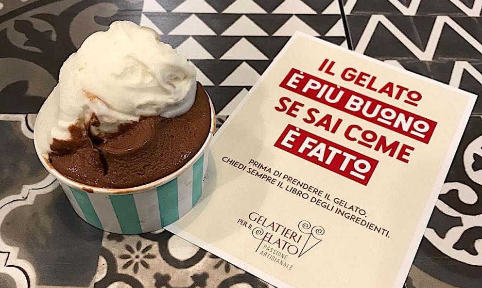 Operazione Trasparenza dell'associazione Gelatieri per il Gelato: l'obiettivo è saper riconoscere il vero gelato artigianale di qualità