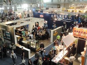Panoramica del Good Food and Wine Show a Capetown. Il format ha preso piede in Sudafrica ma anche in Australia