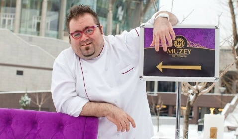 Chef Marco Iachetta, originally from the Marche re