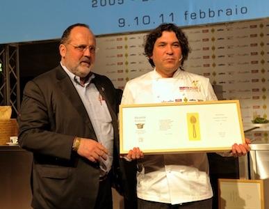 Con Paolo Marchi, Gaston Acurio, monumento della cucina (e non solo) del Perù