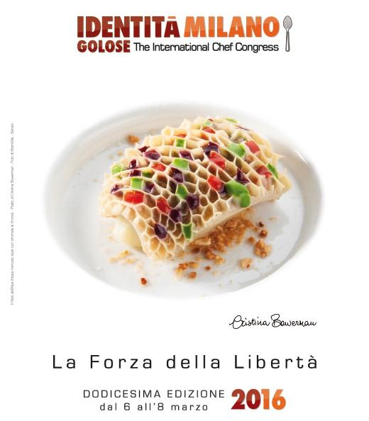 To Bee or not to Bee, il piatto di Cristina Bowerman- chef di Glass Hostaria a Roma - che ricorda l'alveare delle api. E' stato scelto come immagine simbolo di Identità Milano, dodicesima edizione del congresso internazionale di cucina e pasticceria che avrà luogo al MiCo di via Gattamelata dal 6 all'8 marzo 2016.