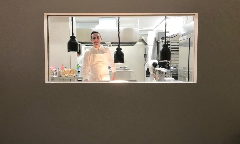 Davide Guidara dal 27 luglio scorso è chef del Sum, nuovo ristorante gastronomico all'hotel Romano Palace di Catania