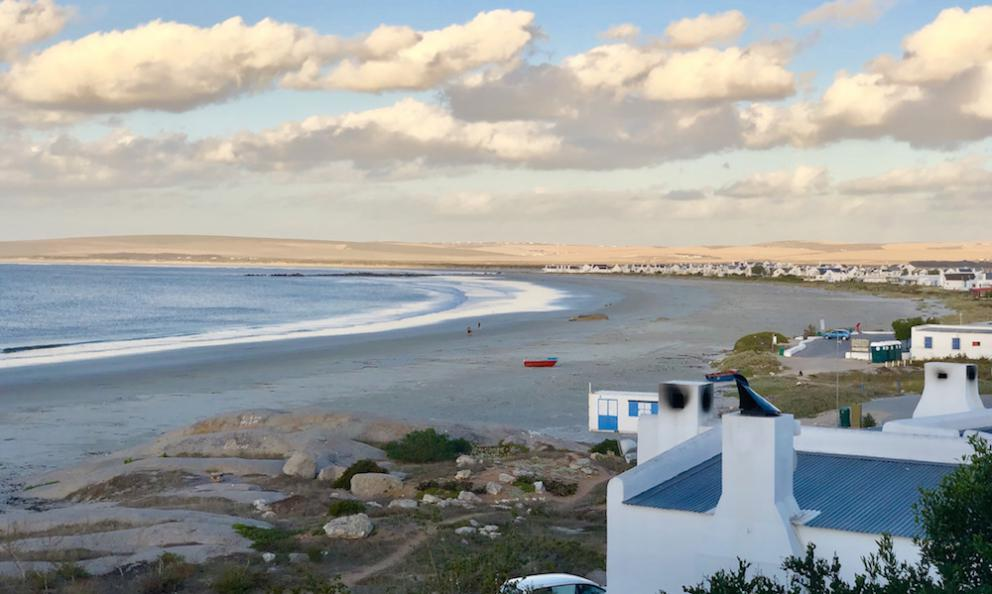 The view from restaurant Wolfgat in Paternoster, South Africa, winner of the Restaurant of the year award and the Off the map destination award in the first edition of the World Restaurant Awards, which took place in Paris on the 18th February (photo Sartor)