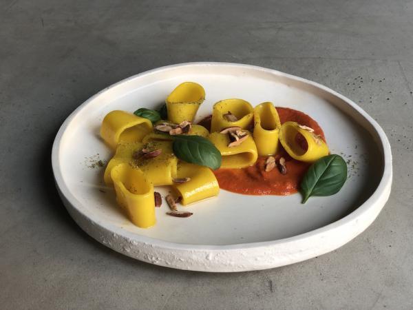 Altatto: pasta al pomodoro alla milanese