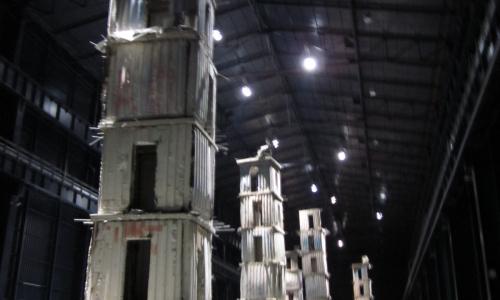 L'installazione dell'artista Anselm Kiefer