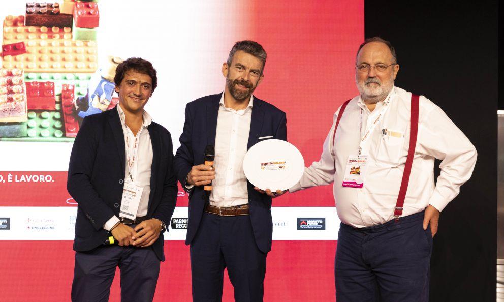 CHS Group premia come Artigiano del Gusto Giorgio Servettodel ristorante Nove a Villa della Pergola di Alassio (Savona)