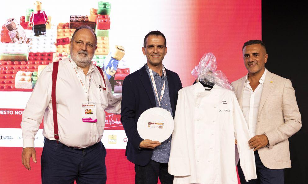 Goeldlin premia Luca Landi, chef del Lunasia al Plaza e de Russie di Viareggio (Lucca), col premio Sperimentazioni in Cucina