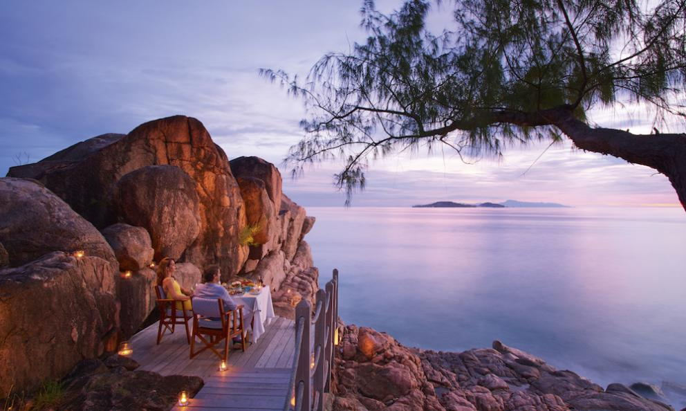 Una cena da sogno, ma possibile: alConstance Lémuria, resort alle Seychelles