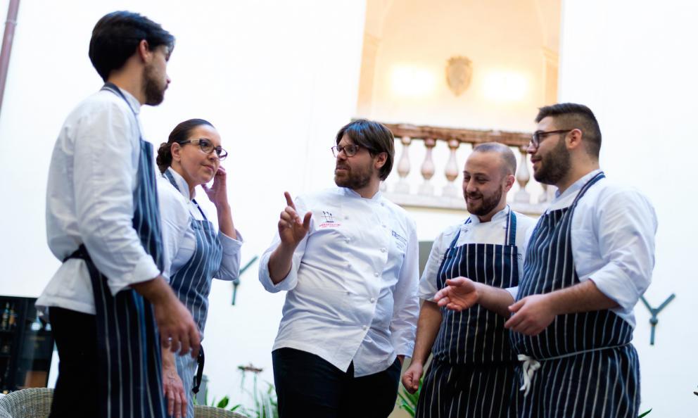 Gaetano Billeci a Palazzo Branciforte: tra Sicilia e cucina senza frontiere