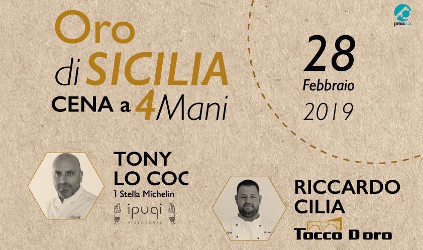 Oro di Sicilia: i due estremi dell'isola insieme nella cena di Lo Coco e Cilia